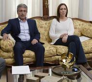 Vidal junto al Intendente Martínez, de Pergamino.