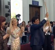 La Matanza: Juró Espinoza y convocó al arco oficialista con Cristina, gobernadores y gremialistas