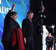 Máximo Kirchner recordó la elección de Kirchner presidente de 2003 en José C. Paz junto a Mario Ishii