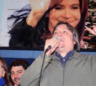 Máximo apuntó a Clarín y la oposición. Foto: DyN