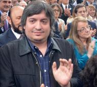 El hijo de Néstor y Cristina Kirchner se recupera favorablemente.