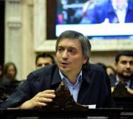 El pedido de sesión fue presentado a la presidencia de la Cámara baja por el jefe de la bancada oficialista, Máximo Kirchne