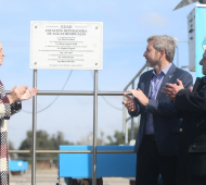 Las declaraciones fueron tras la inauguración de una planta depuradora en Mar del Plata.