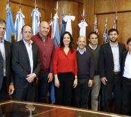 Stanley firmó convenio con 6 municipios bonaerenses.