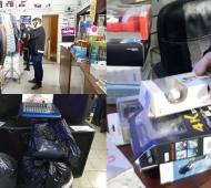 Quilmes: Incautan$220 mil pesos en mercadería de contrabando en Solano