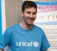 Lionel Messi es embajador de Buena Voluntad de Unicef