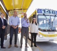 Metrobus de Quilmes: Primeras pruebas de colectivos antes de su inauguración