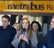 Katopodis, Vidal y Macri en la inauguración del Metrobus