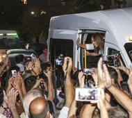 La Gobernadora en la XXV Fiesta Nacional del Girasol de Carlos Casares.