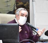 El jefe comunal Miguel Fernández