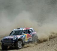 El Dakar sigue su paso.