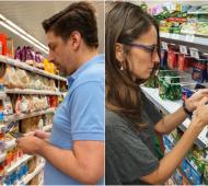 Ministros del gabinete nacional controlaron los Precios Cuidados en los supermercados