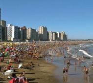 La costa atlántica vive una temporada turística con alta ocupación hotelera