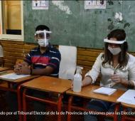 Misiones abre el cronograma electoral: Un simulacro del protocolo sanitario Covid
