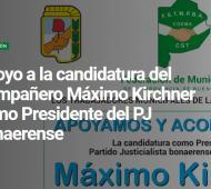 Federación de Trabajadores Municipales bonaerenses apoyan a Máximo Kirchner para presidir el PJ provincial