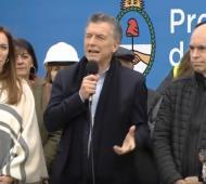 Vidal, Macri y Larreta en la inauguración del Viaducto San Martín