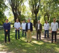 Mauricio Macri con los intendentes