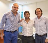 Martiniano Molina se reunió con Salvai para analizar avances de gestión