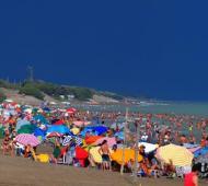 Monte Hermoso, la playa más elegida de la Provincia.
