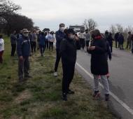 Las protestas se registraron este sábado