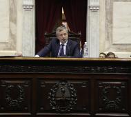 """Reivindico la rosca"", dijo Emilio Monzó tras ser reelecto como presidente de la Cámara de Diputados"