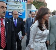 Otros tiempos: Cristina y Moreno juntos.