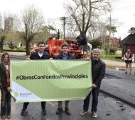 Moscá recorrió la Quinta Sección electoral. Foto: Prensa