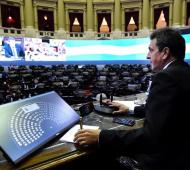 Nueva sesión telemática en Diputados.