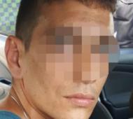 El detenido por el robo de seis casas en Nordelta.