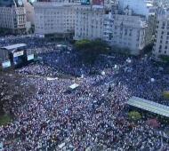 Marcha del Millón - Foto: Juntos por el Cambio