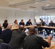 Obispos de la Provincia se reunieron con Vidalcon foco en la situación social