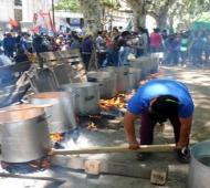 Jornada de ollas populares en todo el Conurbano.