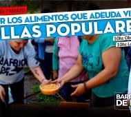 Ollas populares para reclamar entrega de alimentos a Provincia