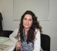 Vanina González, junto a Julián Lemos, votarán a Cambiemos en octubre. Foto: Twitter Vanina González