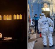 Punta Alta: Un detenido por destrozar el portón de su pareja tenía coronavirus y tuvieron que desinfectar la comisaría (Via Punta Alta)