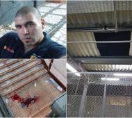 Sebastián Carranza falleció al caer del techo delandén de la estación Castelar