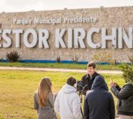 """El Parque """"Néstor Kirchner"""" se encuentra en Coronel Vidal."""