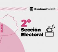 La segunda sección electoral está compuesta por 15 municipios.
