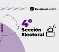 La cuarta sección está compuesta por 19 municipios.
