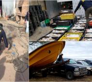 Pehuajó: Allanamientos a dos hermanos por pesca ilegal y lavado de activos