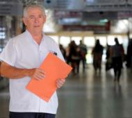 Gabriel Peluffo es el director del Hospital Penna