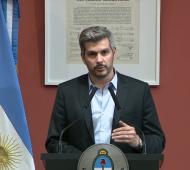 """Peña arremetió contra la oposición y dijo que """"se convirtieron en piqueteros dentro de la Cámara"""""""