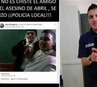 El delincuente es amigo de un policía de Ensenada.