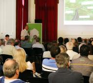 Pergamino: Infraestructura presentó la obra de la presa que ayudará a mitigar inundaciones