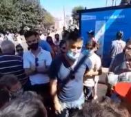 El intendente Perie pidió mantener el diálogo tras el anuncio de cierre (Imagen: Meta Ramallo FM)
