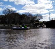 Encontraron cadáver flotando en el Río de la Plata en medio de la búsqueda de los pescadores
