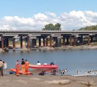 Lezama: Hallaron apescador que se ahogó en el río Salado (Infozona)