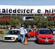 Vuelven las picadas al AutoMoto Club Dolores para despedir el año. Foto:Criterio Online