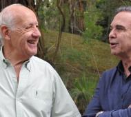 Lavagna y Pichetto, juntos en el verano.