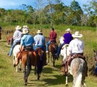 Este sábado se desarrollará la tercera cabalgata por los caminos de Cobo. Foto: Prensa